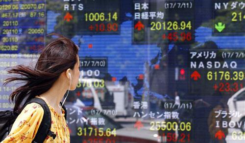 Cổ phiếu châu Á tăng nhờ GDP Mỹ mạnh, hướng tập trung vào Fed, Trung Quốc