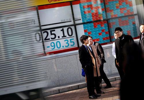 Chứng khoán châu Á tăng với hy vọng căng thẳng Mỹ - Trung hạ nhiệt
