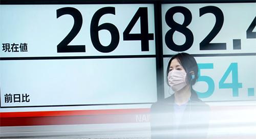 Cổ phiếu châu Á tiếp tục giảm do lo lắng vì virus, tổn hại từ lạm phát