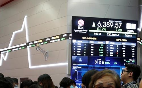 Cổ phiếu châu Á tăng, đồng euro giảm gần mức thấp trong hai tháng trước khi có quyết định từ ECB