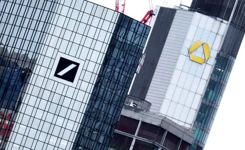 Deutsche Bank bắt đầu đàm phán sáp nhập với Commerzbank