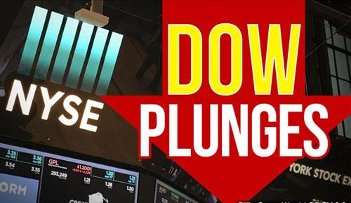 Chỉ số Dow mất 617 điểm sau khi Trung Quốc trả đũa với những khoản thuế cao hơn