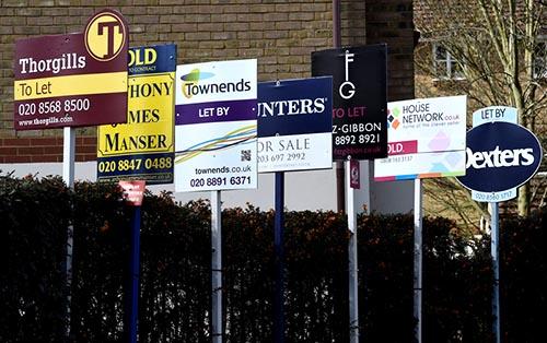 Giá nhà ở Anh tăng chậm nhất trong sáu năm