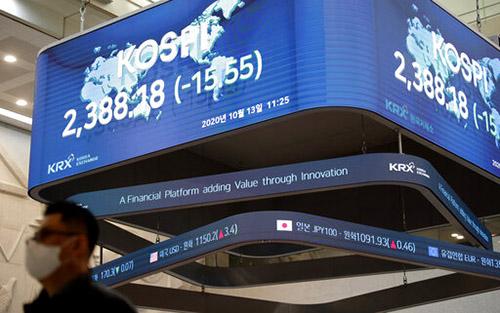 Cổ phiếu châu Á phục hồi các khoản giảm trước đó nhờ số liệu thương mại Trung Quốc
