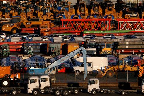 Xuất khẩu Nhật Bản tăng 18%, mức tăng lớn nhất trong gần bốn năm