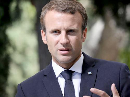 Macron : EU phải bảo vệ các công ty của mình trước các cấm vận của Mỹ