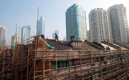 Bong bóng bất động sản Trung Quốc hàm chứa rủi ro kinh tế